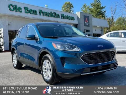 2020 Ford Escape for sale at Ole Ben Franklin Motors-Mitsubishi of Alcoa in Alcoa TN