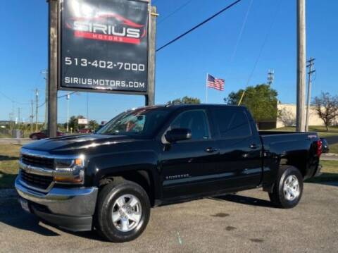 2017 Chevrolet Silverado 1500 for sale at SIRIUS MOTORS INC in Monroe OH