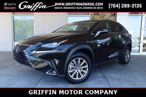 2019 Lexus NX 300 for sale at Griffin Buick GMC in Monroe NC