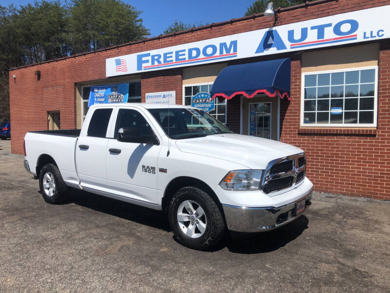 2016 RAM Ram Pickup 1500 for sale at FREEDOM AUTO LLC in Wilkesboro NC