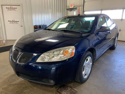 2008 Pontiac G6 for sale at Blake Hollenbeck Auto Sales in Greenville MI
