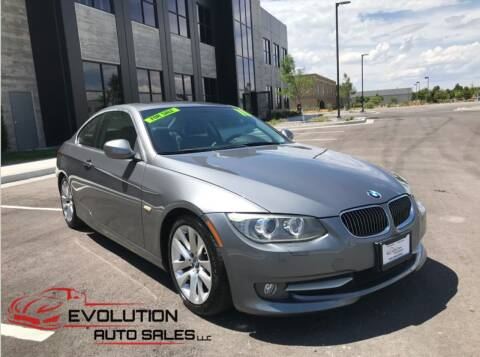 2011 BMW 3 Series for sale at Evolution Auto Sales LLC in Springville UT
