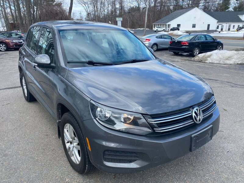 2014 Volkswagen Tiguan for sale at USA Auto Sales in Leominster MA