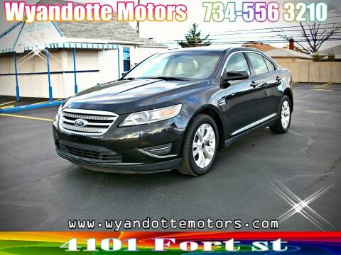 2011 Ford Taurus for sale at Wyandotte Motors in Wyandotte MI