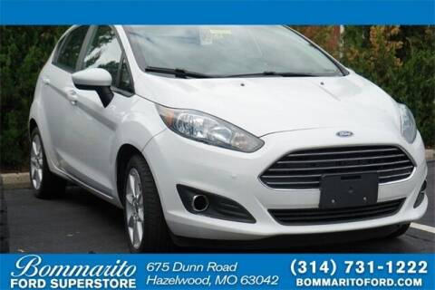 2019 Ford Fiesta for sale at NICK FARACE AT BOMMARITO FORD in Hazelwood MO