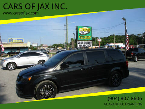 2017 Dodge Grand Caravan for sale at CARS OF JAX INC. in Jacksonville FL