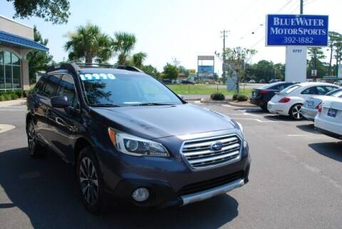 2015 Subaru Outback for sale at BlueWater MotorSports in Wilmington NC