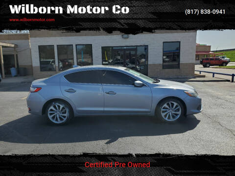 2016 Acura ILX for sale at Wilborn Motor Co in Fort Worth TX