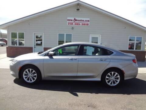 2015 Chrysler 200 for sale at GIBB'S 10 SALES LLC in New York Mills MN