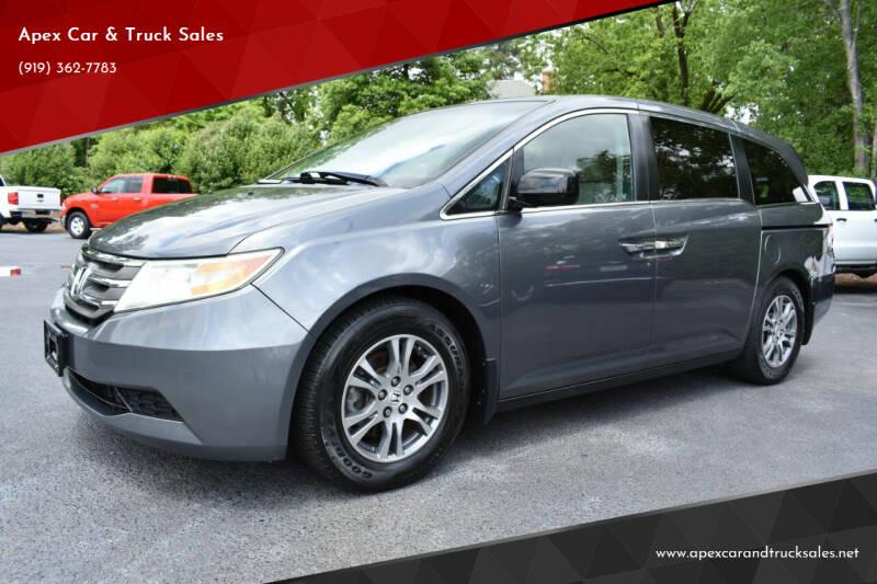2011 Honda Odyssey for sale at Apex Car & Truck Sales in Apex NC