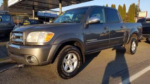 2006 Toyota Tundra for sale at Payless Car & Truck Sales in Mount Vernon WA