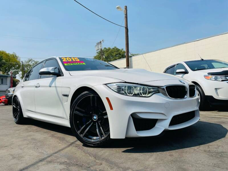 2015 BMW M3 for sale at Alpha AutoSports in Roseville CA