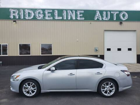 2012 Nissan Maxima for sale at RIDGELINE AUTO in Chubbuck ID