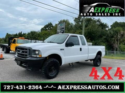 2004 Ford F-350 Super Duty for sale at A EXPRESS AUTO SALES INC in Tarpon Springs FL