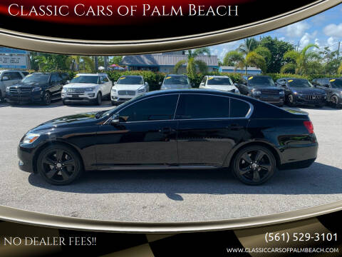 2009 Lexus GS 350 for sale at Classic Cars of Palm Beach in Jupiter FL
