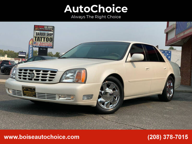 2000 Cadillac DeVille for sale at AutoChoice in Boise ID