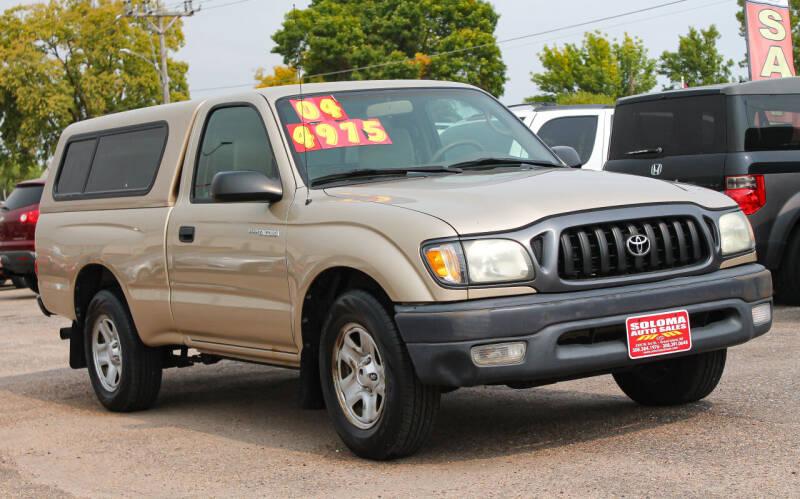2004 Toyota Tacoma for sale at SOLOMA AUTO SALES in Grand Island NE