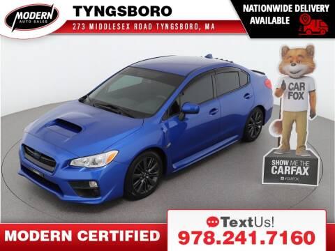 2017 Subaru WRX for sale at Modern Auto Sales in Tyngsboro MA