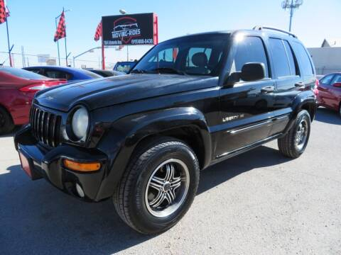2003 Jeep Liberty for sale at Moving Rides in El Paso TX
