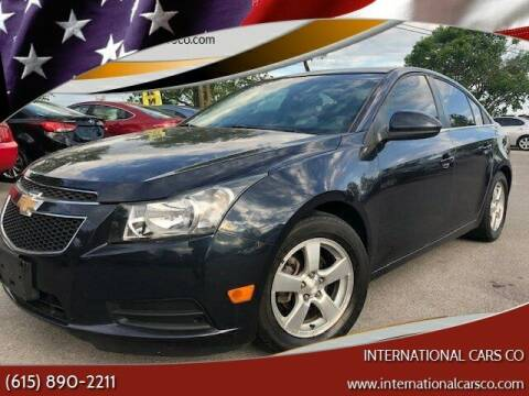 2014 Chevrolet Cruze for sale at International Cars Co in Murfreesboro TN