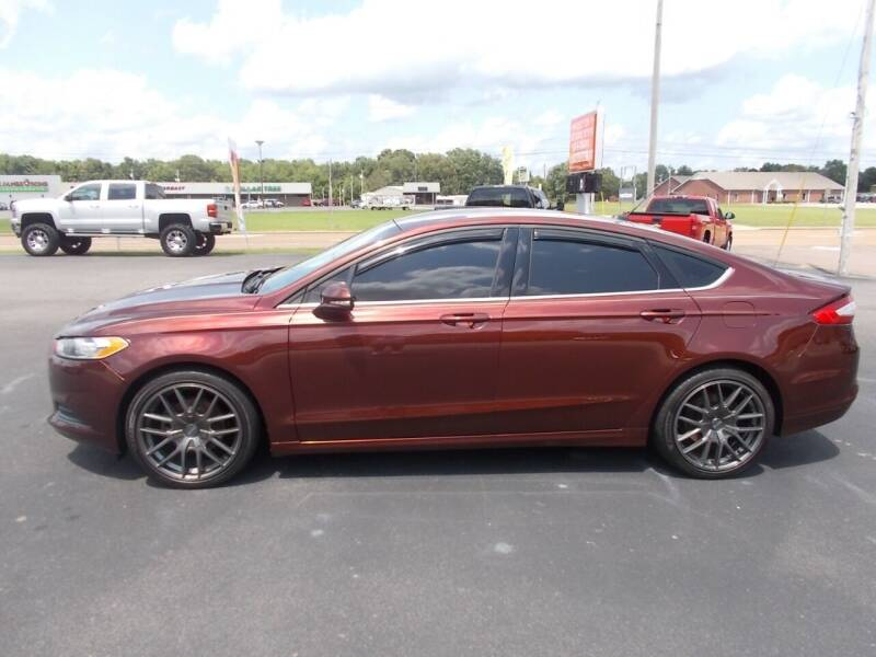 2016 Ford Fusion for sale at West TN Automotive in Dresden TN