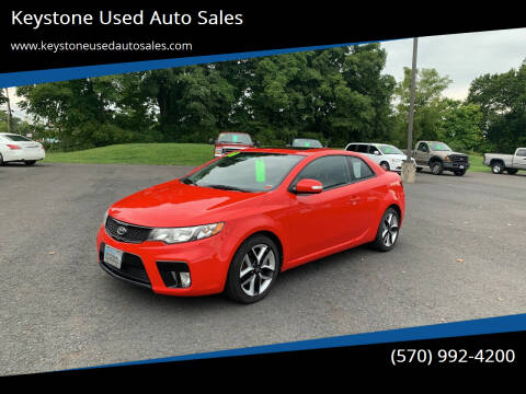 2010 Kia Forte Koup for sale at Keystone Used Auto Sales in Brodheadsville PA
