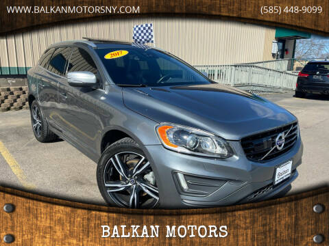 2017 Volvo XC60 for sale at BALKAN MOTORS in East Rochester NY