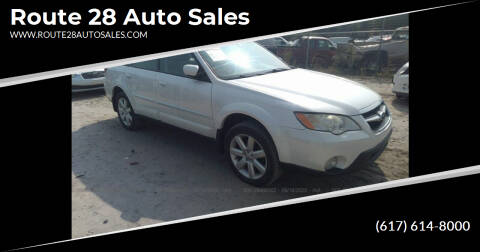 2008 Subaru Outback for sale at Route 28 Auto Sales in Canton MA