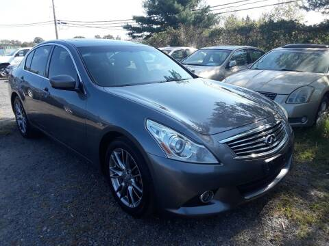 2013 Infiniti G37 Sedan for sale at M & M Auto Brokers in Chantilly VA