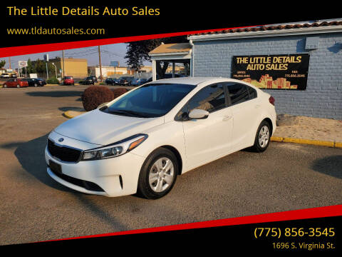 2017 Kia Forte for sale at The Little Details Auto Sales in Reno NV