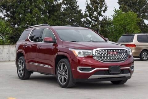 2018 GMC Acadia for sale at Washington Auto Credit in Puyallup WA