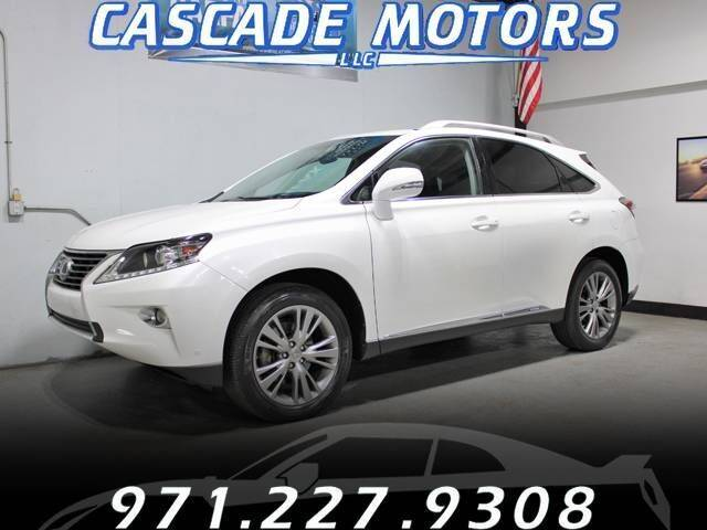 2013 Lexus RX 450h for sale at Cascade Motors in Portland OR
