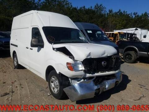 2013 Nissan NV Cargo for sale at East Coast Auto Source Inc. in Bedford VA