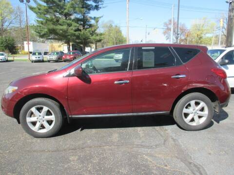 2010 Nissan Murano for sale at Home Street Auto Sales in Mishawaka IN