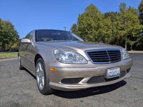 2004 Mercedes-Benz S-Class for sale at California Automobile Museum in Sacramento CA