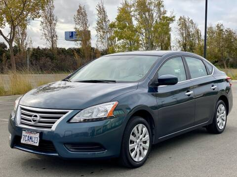 2013 Nissan Sentra for sale at Silmi Auto Sales in Newark CA