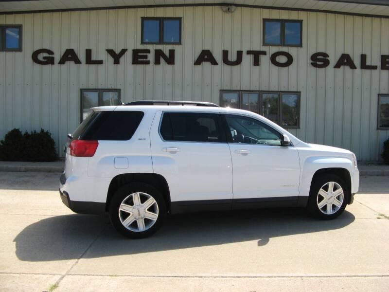 2011 GMC Terrain for sale at Galyen Auto Sales in Atkinson NE