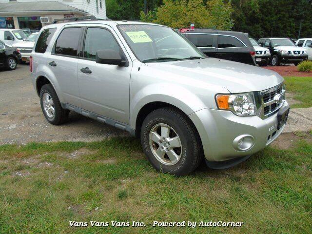 2011 Ford Escape for sale at Vans Vans Vans INC in Blauvelt NY