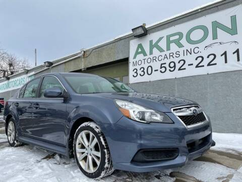 2013 Subaru Legacy for sale at Akron Motorcars Inc. in Akron OH