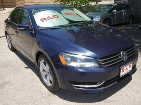 2015 Volkswagen Passat for sale at R & D Motors in Austin TX