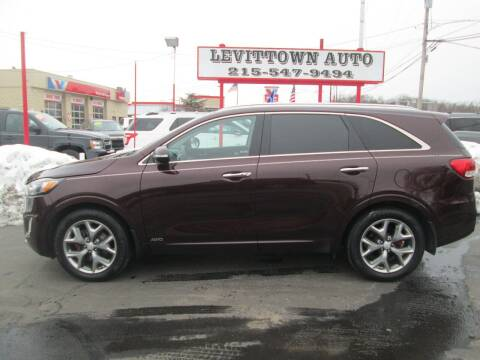 2016 Kia Sorento for sale at Levittown Auto in Levittown PA