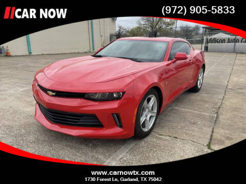 2018 Chevrolet Camaro for sale at Car Now Dallas in Dallas TX