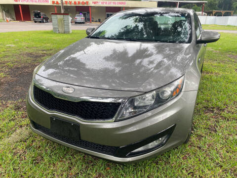2013 Kia Optima for sale at Carlyle Kelly in Jacksonville FL