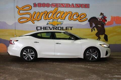 2020 Nissan Maxima for sale at Sundance Chevrolet in Grand Ledge MI