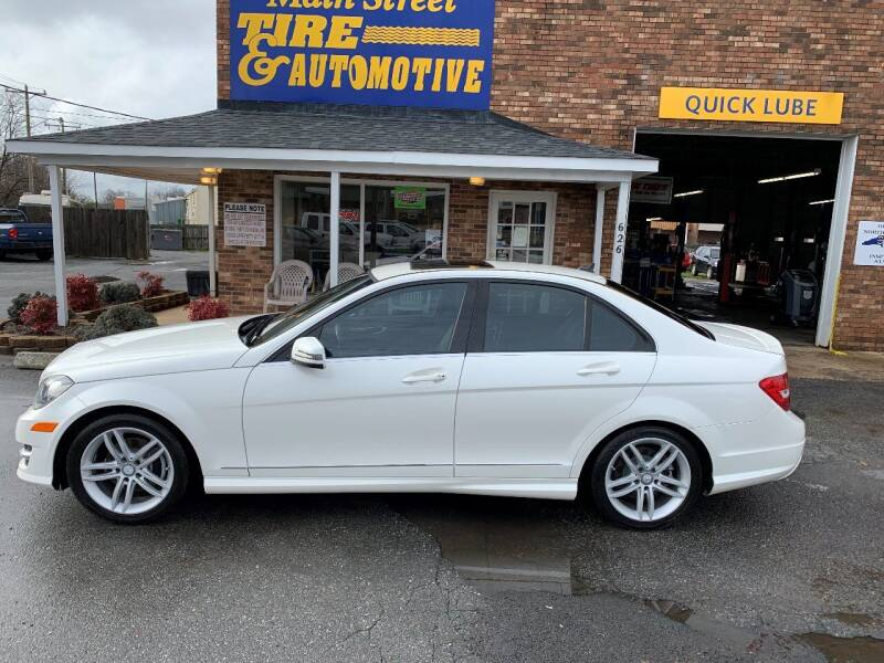 2014 Mercedes-Benz C-Class for sale at Main Street Auto LLC in King NC