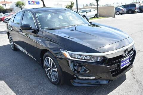 2020 Honda Accord Hybrid for sale at DIAMOND VALLEY HONDA in Hemet CA