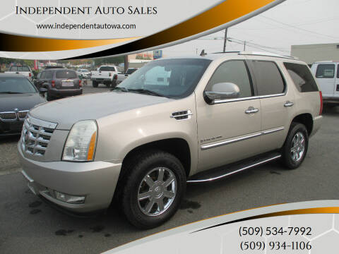 2007 Cadillac Escalade for sale at Independent Auto Sales #2 in Spokane WA