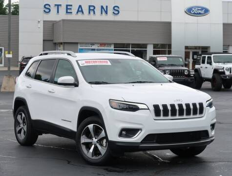 2019 Jeep Cherokee for sale at Stearns Ford in Burlington NC
