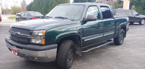 2004 Chevrolet Silverado 1500 for sale at PEKARSKE AUTOMOTIVE INC in Two Rivers WI