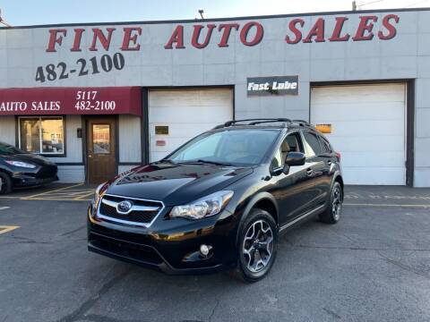 2014 Subaru XV Crosstrek for sale at Fine Auto Sales in Cudahy WI